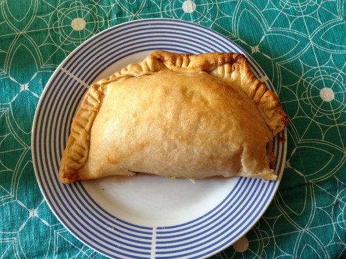 And the national holidays (Fiestas Patrias) came and went so we made empanadas. Well, I ATE empanadas.